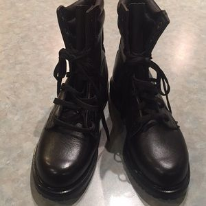 Red Wing supersole black leather boots